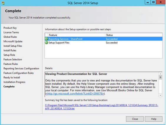 Install and Configure SQL Server Reporting Services 2012 SP1
