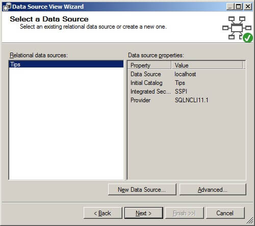 Select a data source