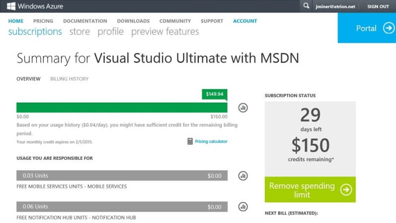 MSDN Ultimate License