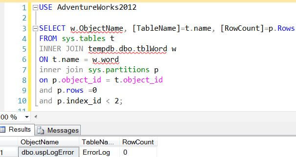 How to find a specific text string in a sql server stored - How to find a table in sql server management studio ...
