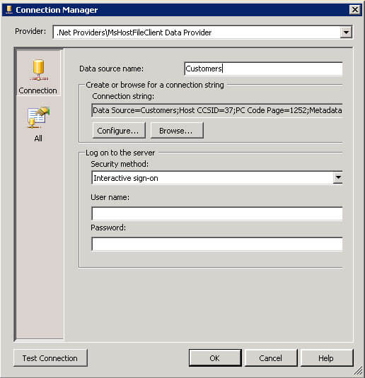 Importing Mainframe Data with SQL Server Integration