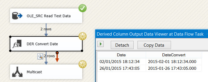 SSIS can incorrectly convert date time in European format
