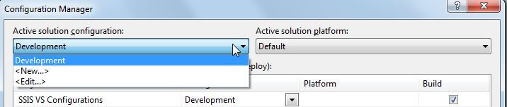 how to create integration services project in visual studio 2013