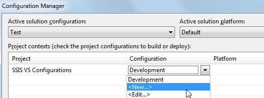 Project Configurations