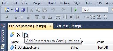 Add parameter to config
