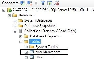 Verified objects are shipped to secondary database