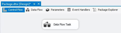 Add Data Flow Task