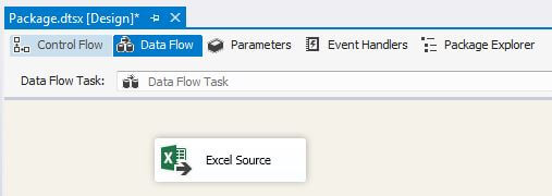 Add Excel Source Task In Data Flow Task