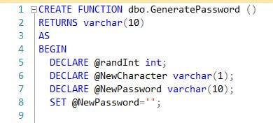 Function declaration and variables