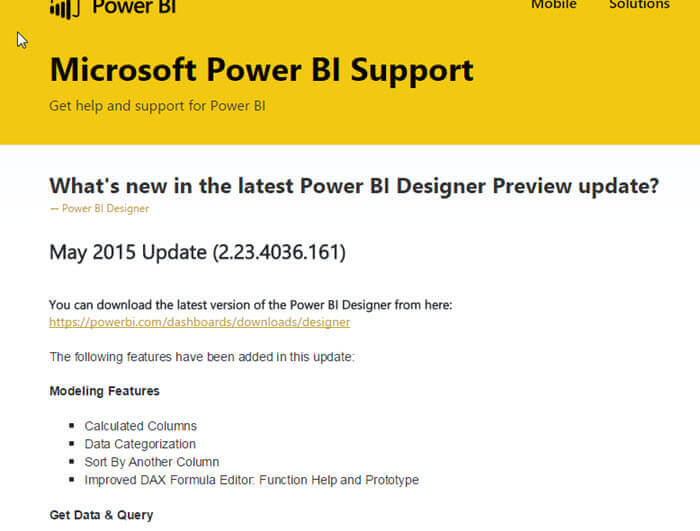 Getting Started with Power BI Designer