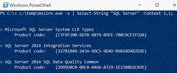 Cleanly Uninstalling Stubborn SQL Server Components
