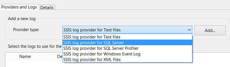 Logging in ssis (windows event log provider) | msbi guide.