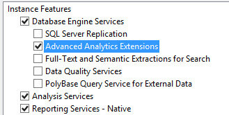 Advanced Analytics Extensions