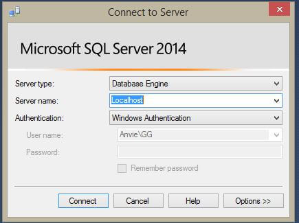 how to create mdf file in sql server management studio