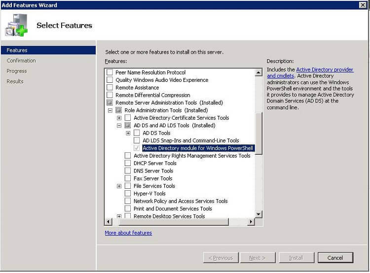 Using PowerShell to export Active Directory information