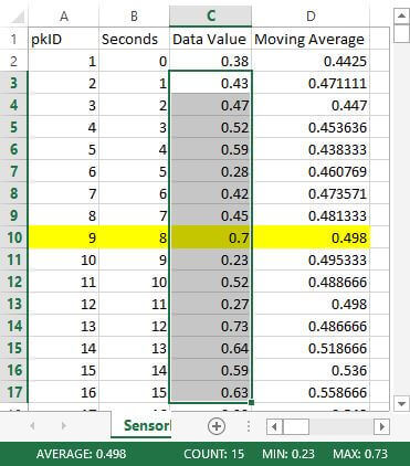 Validate the results in Excel