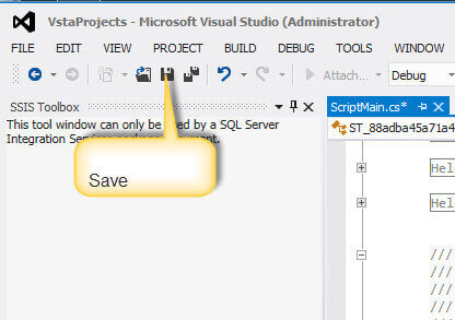 save your project in visual studio - Visual Basic Beispiele