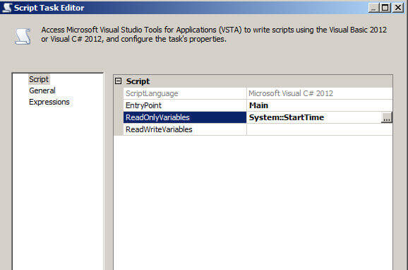readonlyvariable set to systemstarttime - Visual Basic Beispiele