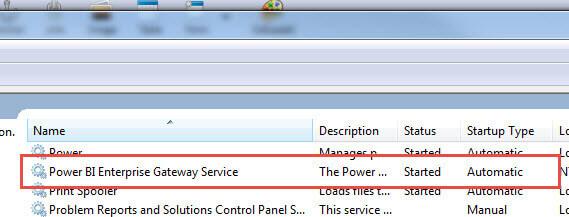 How to use the Power BI Enterprise Gateway