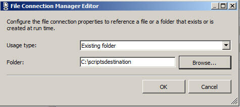 File Connecion Manager
