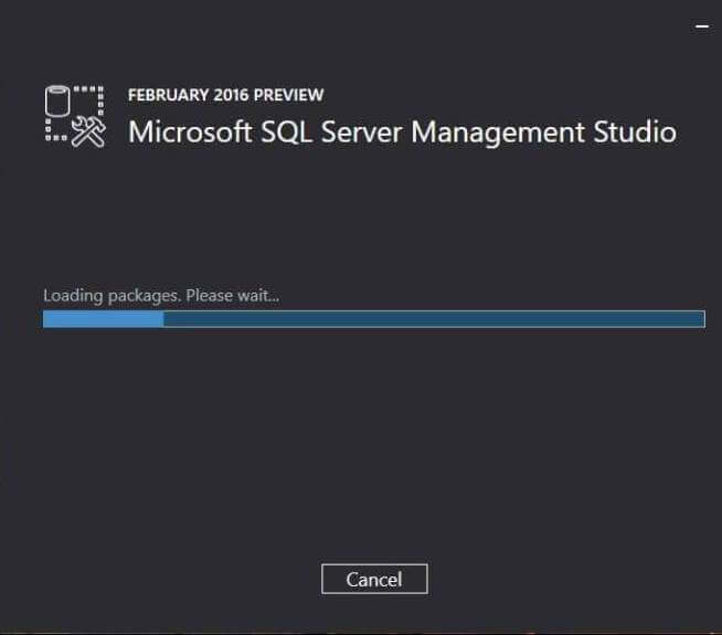 Loading Packages for Microsoft SQL Server Management Studio