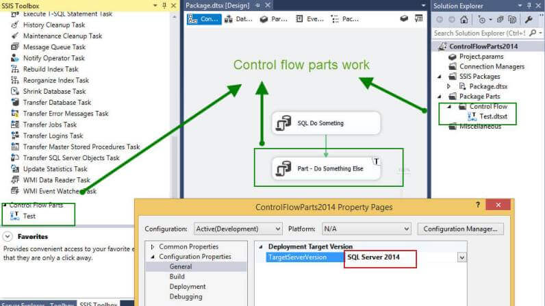 SQL Server 2016 Control Flow Parts Available for SQL Server 2014 SSIS Packages