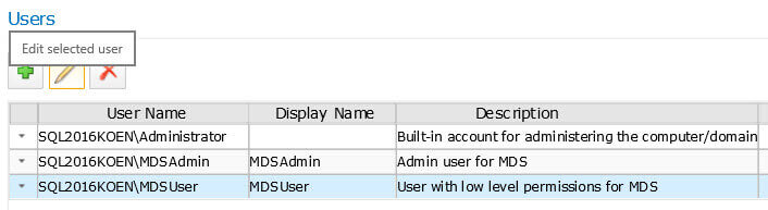 Add new user in SQL Server Master Data Services