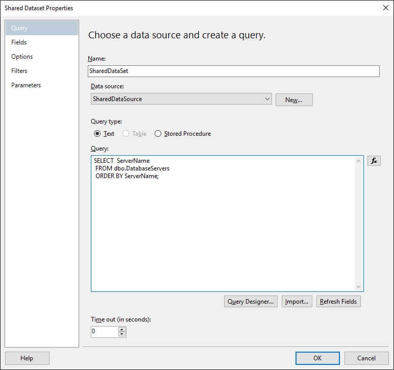 Implement Dynamic Data Sources in SQL Server Reporting Services