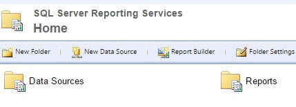 SQL Server Reporting Services Folders
