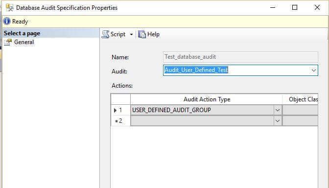 how to create database in sql server 2016 management studio