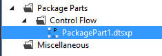 SQL Server Integration Services Control Flow Parts