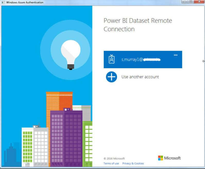Login to Power BI remotely