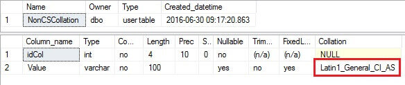 Understanding the COLLATE DATABASE_DEFAULT clause in SQL Server