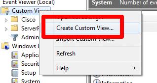 How to write custom eventlog in c