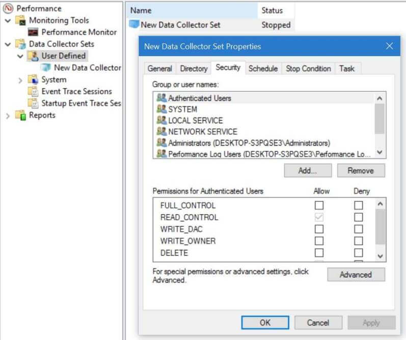 how to use performance monitor in windows 2008 r2