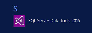Open SQL Server Data Tools to begin the data import