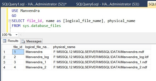 Validate the SQL Server database changes