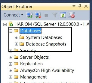 Validate the SQL Server database has been detached