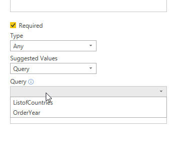 Using Parameters in Power BI