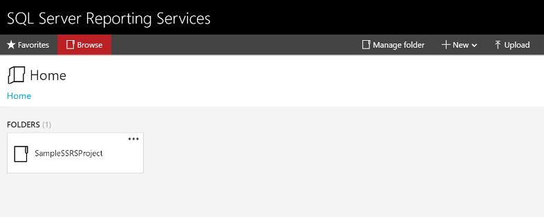 SQL Server Reporting Services Default Theme
