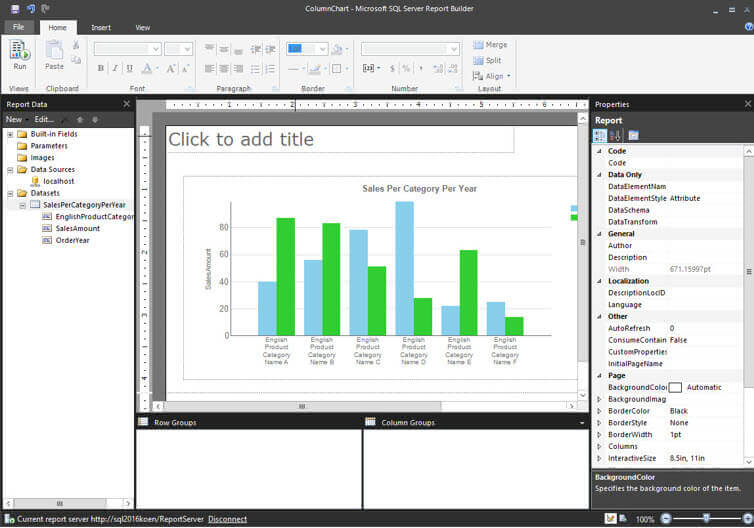 What's New in SQL Server Reporting Services 2016