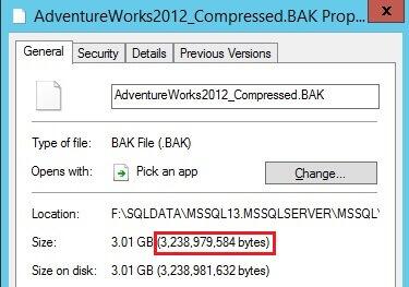 Backup Compression Performance Enhancements for SQL Server 2016 TDE