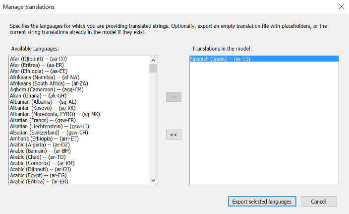 Manage Translation in SQL Server Analysis Services for the Tabular Model