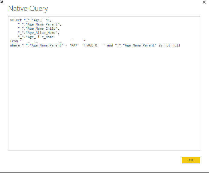 Native Query functionality is not just available for SQL Server
