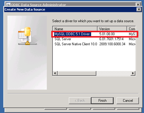 Create a linked server to MySQL from SQL Server