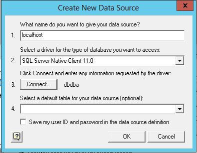 Follow the steps below to create a new data source.