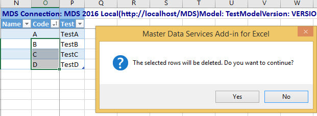 Delete members in Master Data Services
