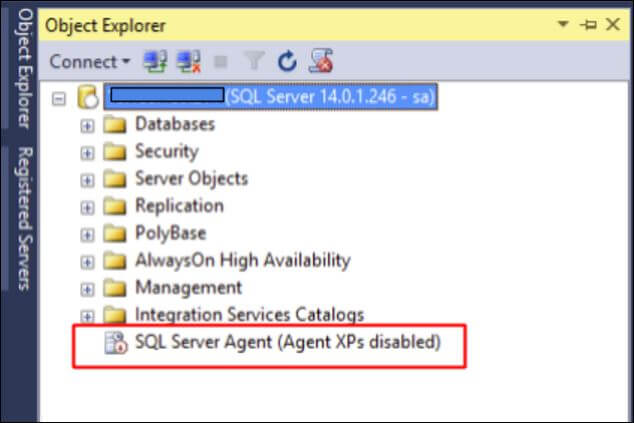 sql server vnext via ssms