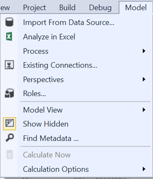 Import from data source