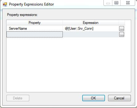 SSIS Property Expressions Editor